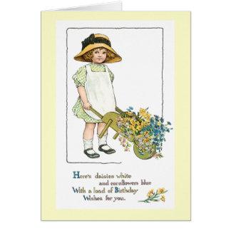 Vintage Birthday Greeting Card #4
