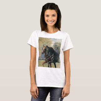 Vintage Black Beauty and Ginger friends in harness T-Shirt