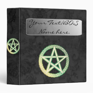 Vintage black binder perfect for Book of Shadows