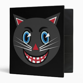 Vintage Black Cat Binder