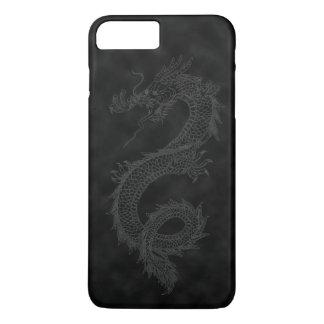 Vintage Black Smoke Dragon iPhone 8 Plus/7 Plus Case