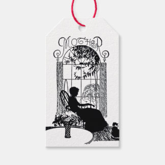 Vintage Black & White Mother's Day Gift Tags