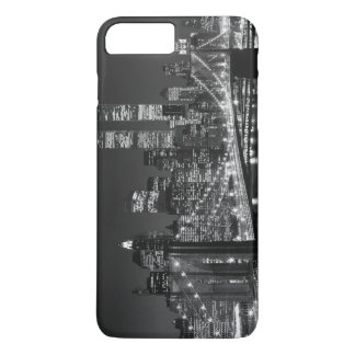 Vintage Black White New York iPhone 7 Plus Case