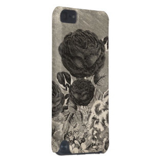 Vintage Black&White Rose iPod Touch 5G Cover