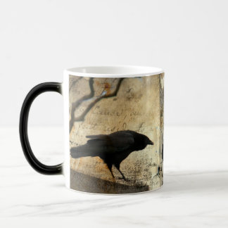 Vintage Blackbird Magic Mug