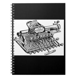 Vintage Blickensderfer No. 5 Typewriter Notebook