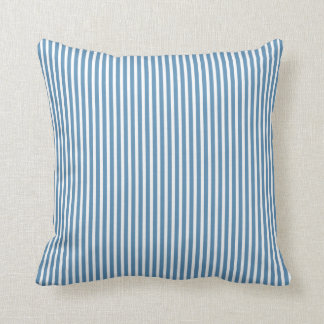 vintage blue candy stripe victorian cushion pillow
