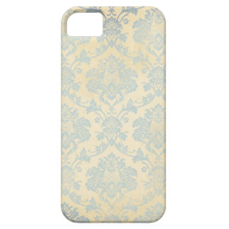 Vintage Blue Damask iPhone 5 Covers