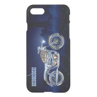 Vintage Blue Golden Sparkling Chrome Chopper iPhone 7 Case