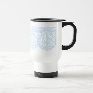 Vintage Blue Lace - Mug #3