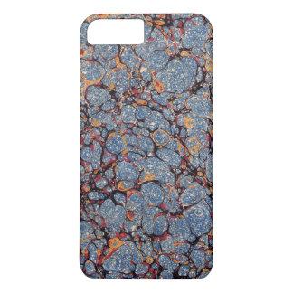 Vintage Blue Marbled Paper iPhone 7 Plus Case