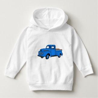Vintage Blue Truck Hoodie