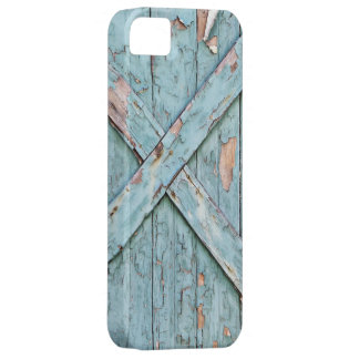 Vintage - Blue Weathered Paint iPhone 5 Cover