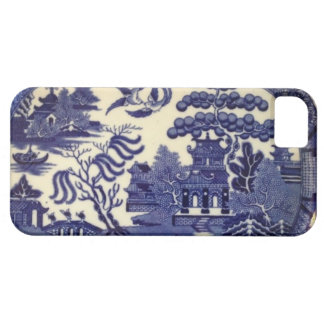 Vintage Blue Willow China Plate Wrap iPhone 5 Cover