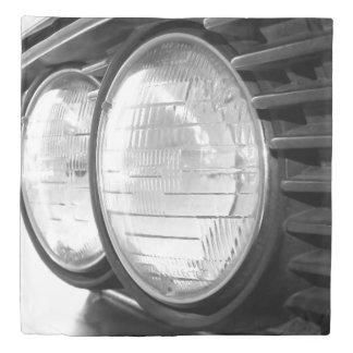 vintage BMW headlights Duvet Cover