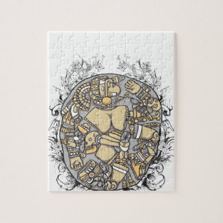 vintage body parts together jigsaw puzzle