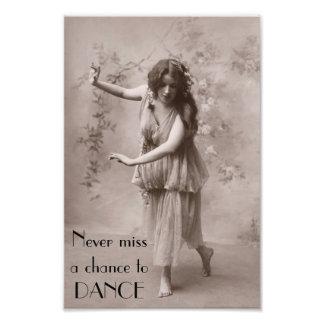 Vintage Bohemian Woman Photo Print