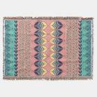 Vintage Boho Daisy Blanket