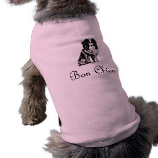 Vintage Bon Chien Good Dog Dog T Shirt