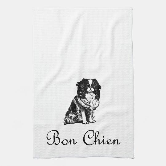 Vintage Bon Chien Good Dog Pet Hand Towels