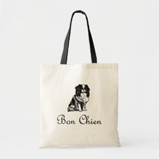 Vintage Bon Chien Good Dog Pet Tote Bag