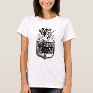 Vintage Book Cover - Historic Adventures T-Shirt