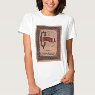 Vintage Book Cover - The Classic Tale: Cinderella Shirts