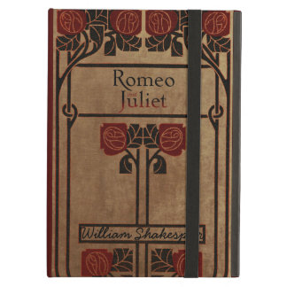 Vintage Book Design Romeo And Juliet Cover For iPad Air