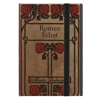 Vintage Book Design Romeo And Juliet iPad Mini Cover