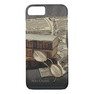 Vintage Book Readers iPhone 7 Case