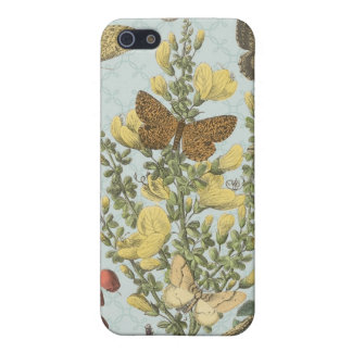Vintage Botanical Butterflies...iphone case iPhone 5 Cases