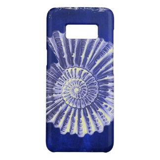 vintage botanical Coastal Blue White seashell Case-Mate Samsung Galaxy S8 Case