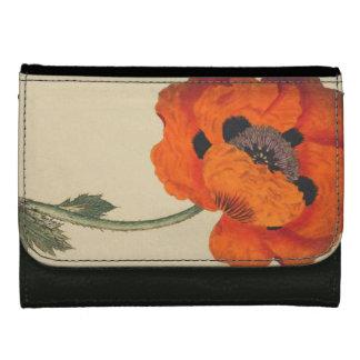Vintage Botanical Flowers Floral Wallet