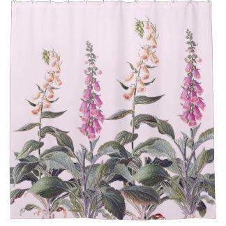 Vintage Botanical Foxglove Flowers Floral