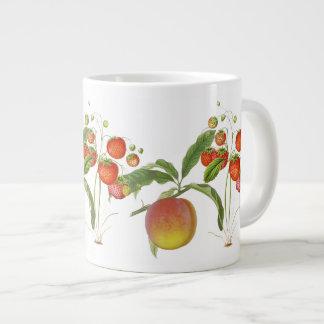 Vintage Botanical Fruit Jumbo Mug
