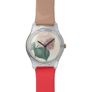 Vintage Botanical Hydrangea Redoute May28th Watch