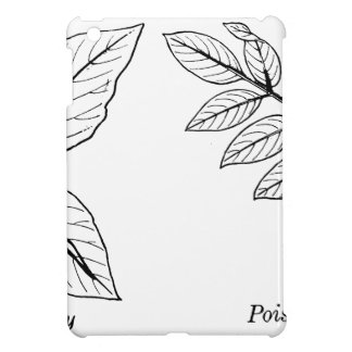 Vintage Botanical Leaves Case For The iPad Mini