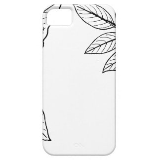 Vintage Botanical Leaves iPhone 5 Cover