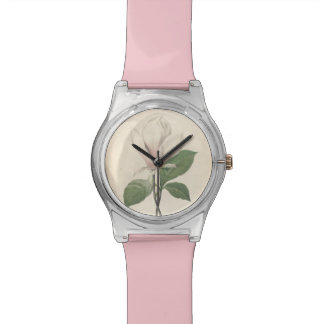 Vintage Botanical Magnolia Redoute May28th Watch