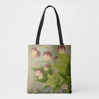 Vintage Botanical Painting Tote Bag