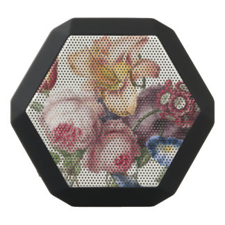 Vintage Bouquet Black Bluetooth Speaker