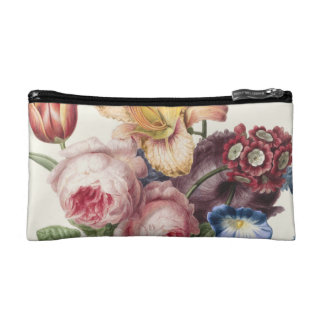 Vintage Bouquet Cosmetic Bag