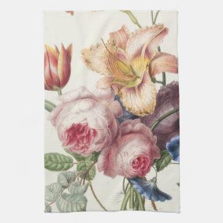 Vintage Bouquet Kitchen Towel