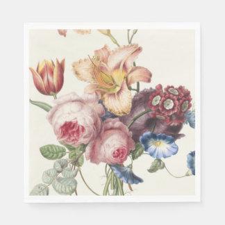 Vintage Bouquet Paper Napkin