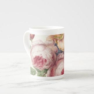 Vintage Bouquet Tea Cup