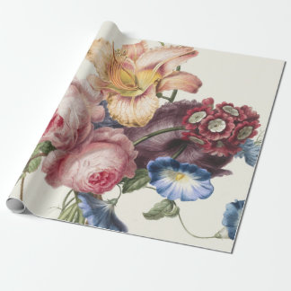 Vintage Bouquet Wrapping Paper