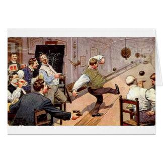 Vintage Bowling Buddies, Card