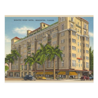Vintage Bradenton Florida Post Card