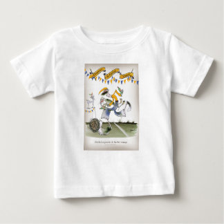vintage brazil left wing footballer baby T-Shirt