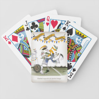 vintage brazil left wing footballer bicycle playing cards